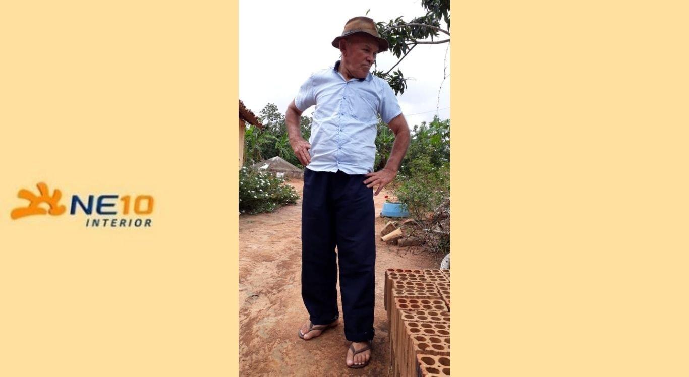 Amancio Francisco da Silva, 76 anos, está desaparecido desde janeiro