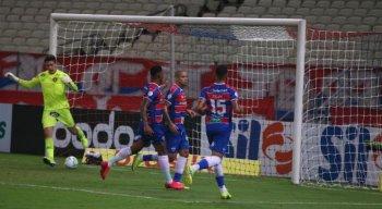 Fortaleza venceu com gol de pênalti