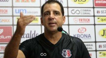 O técnico Marcelo Martelotte (Foto) foi apresentado no Santa Cruz.
