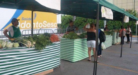 RioMar Recife retoma feira agroecológica com produtos a partir de R$ 2