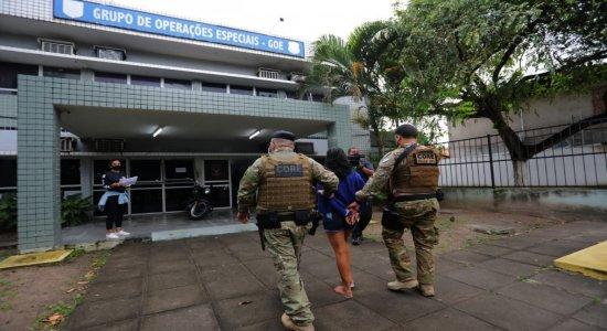 Operação prende suspeitos de homicídio, tráfico de drogas, roubo e incêndios a ônibus em Paulista