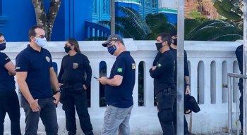 Polícia Federal faz operação em Agrestina