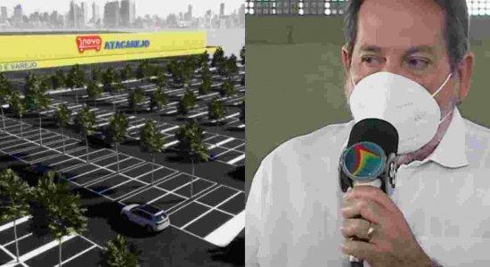Secretário do Trabalho do Recife tira dúvidas sobre vagas de emprego no Novo Atacarejo