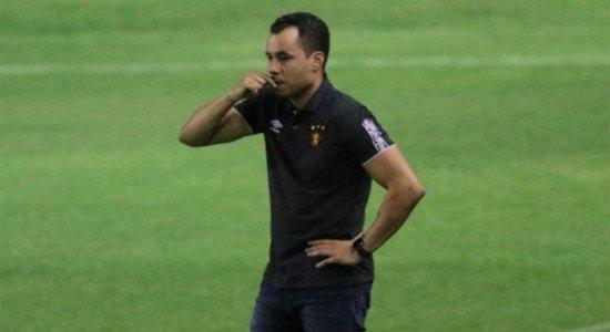 Técnico do Sport mantém cautela por busca de vaga na Copa Sul-Americana