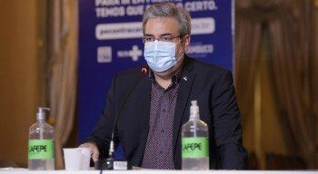 Secretário estadual de Cultura, Gilberto Freyre Neto