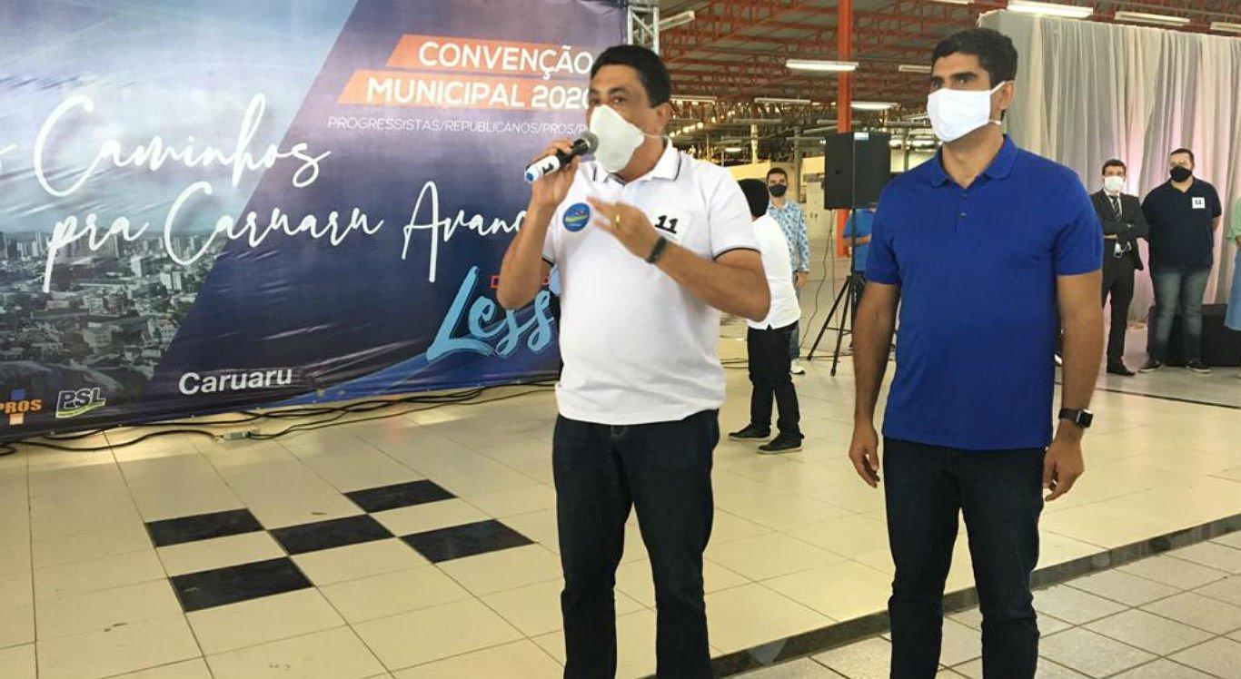 Delegado Lessa e Manoel Santos formam chapa para concorrer à Prefeitura de Caruaru
