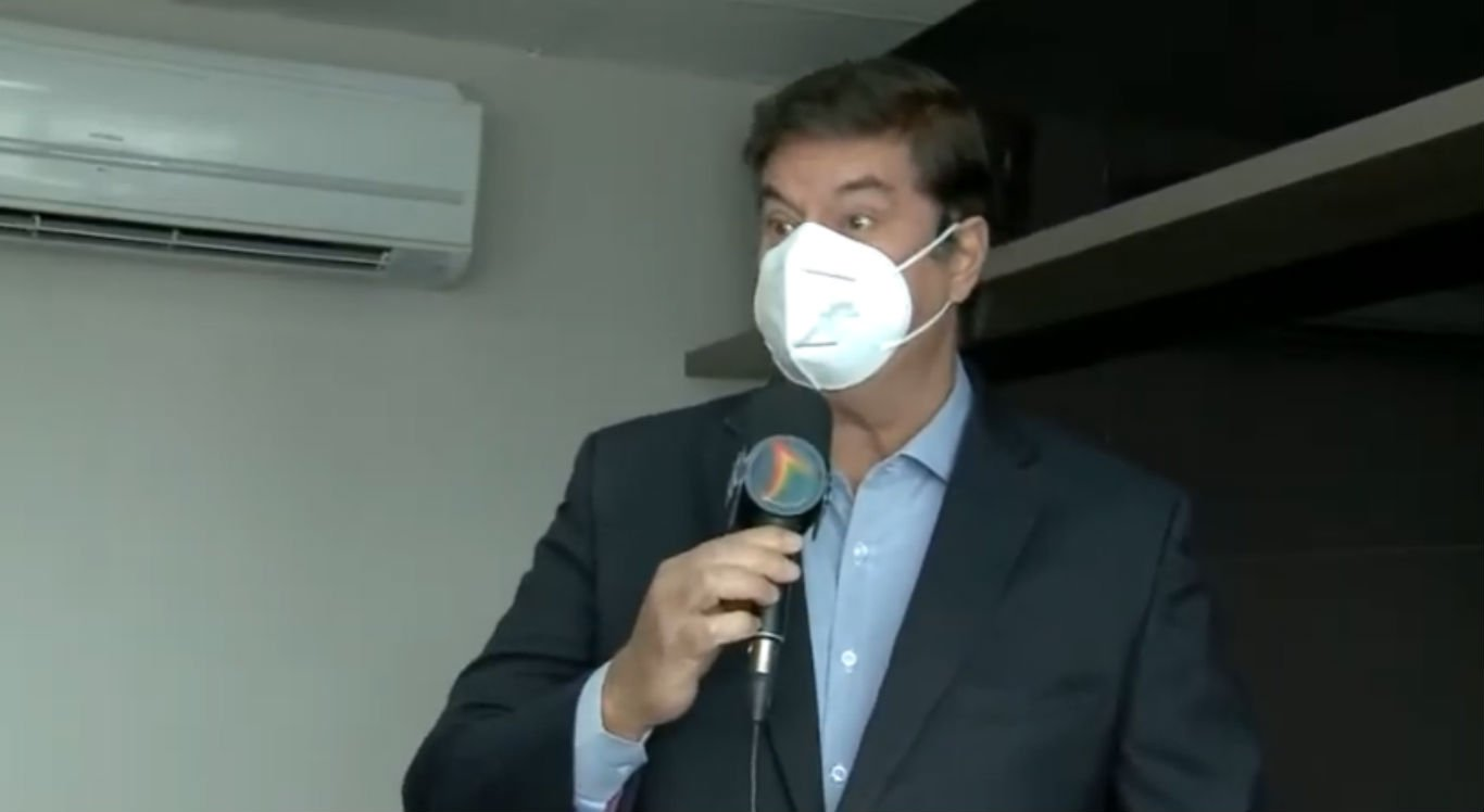Advogado Ademar Rigueira, que faz a defesa do prefeito de Agrestina, Thiago Nunes