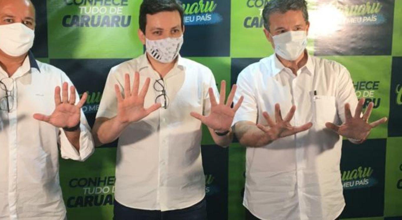 A candidatura de Raffiê terá como legendas coligadas o Partido Verde (PV), o Democracia Cristã, o Partido Trabalhista Cristão (PTC), além do Solidariedade