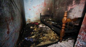 O incêndio aconteceu, devido informações iniciais, após um curto circuito em um elevador
