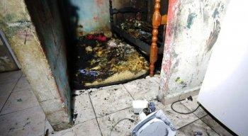 Incêndio teria começado no quarto das crianças