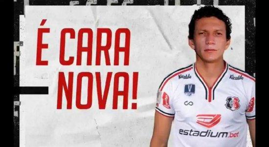 Santa Cruz anuncia contratação do lateral-esquerdo Perí