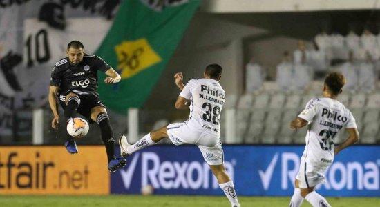 Libertadores: Santos e Olímpia ficam no 0 a 0