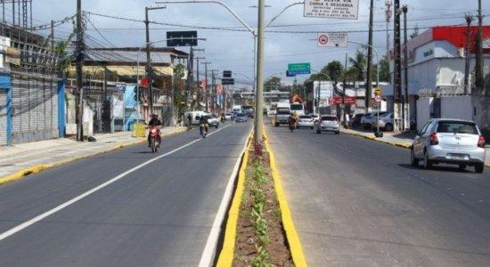 Trecho da Avenida Presidente Kennedy será interditado para obras de drenagem; veja mudanças