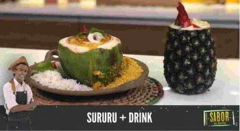 Confira duas deliciosas receitas de Sururu e Drink com o Chef Rivandro França do Sabor da Gente