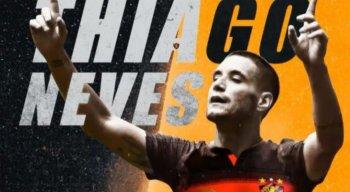 Sport oficializa contratação de Thiago Neves