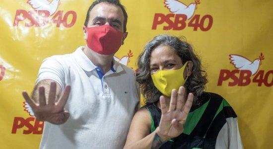 Atual vereador, Marcelo também é presidente do diretório municipal do PSB e terá como a comunista Ailza Trajano