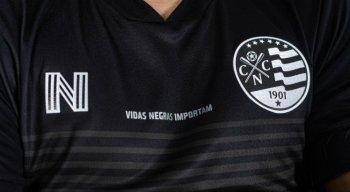 O Náutico lançou camisa no combate ao racismo.