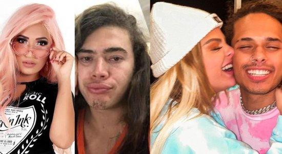 Letra da música traz suposto comentário do cantor Vitão em foto do então casal Luísa Sonza e Whindersson Nunes