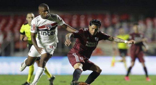 Libertadores: São Paulo empata com River Plate