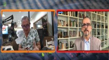 Antonio Lavareda participa do Corrida Eleitoral toda as segundas-feiras, às 8h40