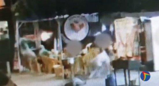 O tiroteio aconteceu em um bar, em Boa Viagem, na Zona Sul do Recife