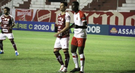 'Negócio de pelada', diz Maciel Júnior após Imperatriz esquecer calções em jogo contra o Vila Nova