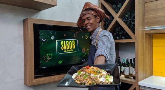 Confira a receita de Baião de Dois com Caju do Chef Rivandro França do Sabor da Gente