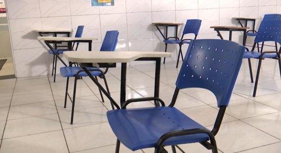 Justiça do Trabalho mantém aulas presenciais da rede privada de Pernambuco suspensas
