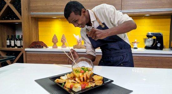 Aprenda a fazer Camarões do Mar ao Sertão com o Chef Rivandro França do Sabor da Gente