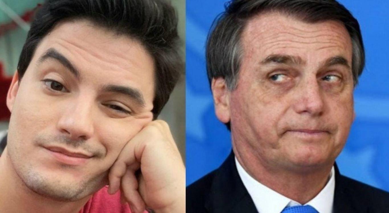 O presidente Jair Bolsonaro, bem como o influenciador digital Felipe Neto estão na lista elaborada pela revista Time