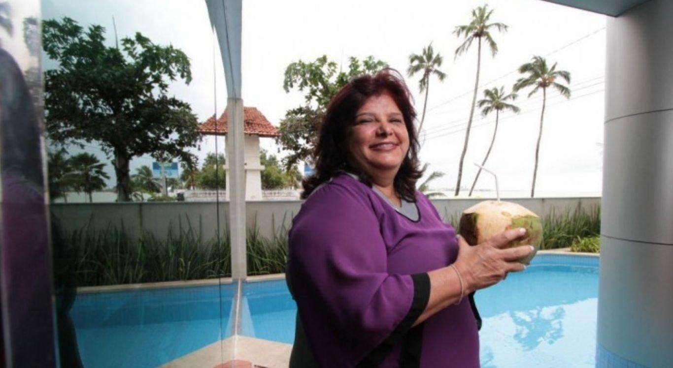 Luiza Helena Trajano é dona da rede de lojas Magazine Luiza e ocupa a oitava posição