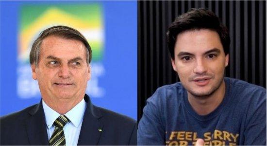 Revista 'Time' considera Bolsonaro e Felipe Neto como os brasileiros mais influentes no mundo