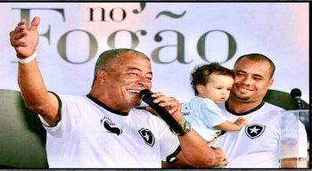 Jairzinho é pai do técnico do Sport, Jair Ventura.