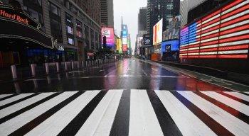Times Square em Nova York.