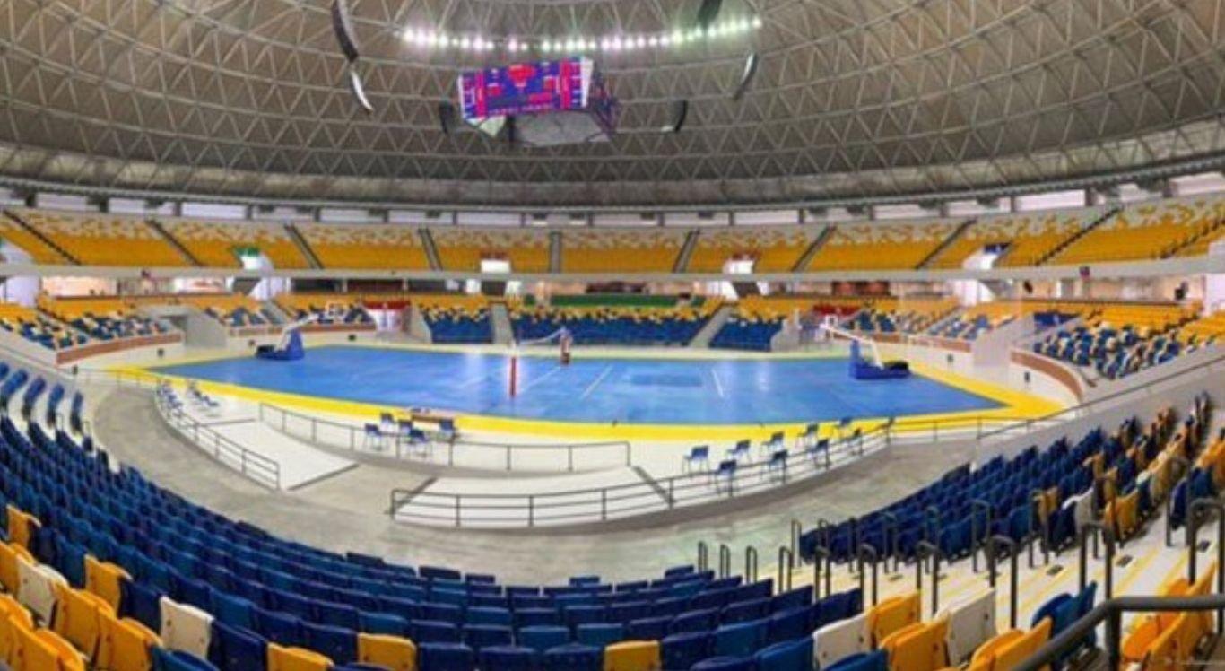 O Geraldão foi transformado em uma arena multiuso, capaz de receber eventos poliesportivos e shows