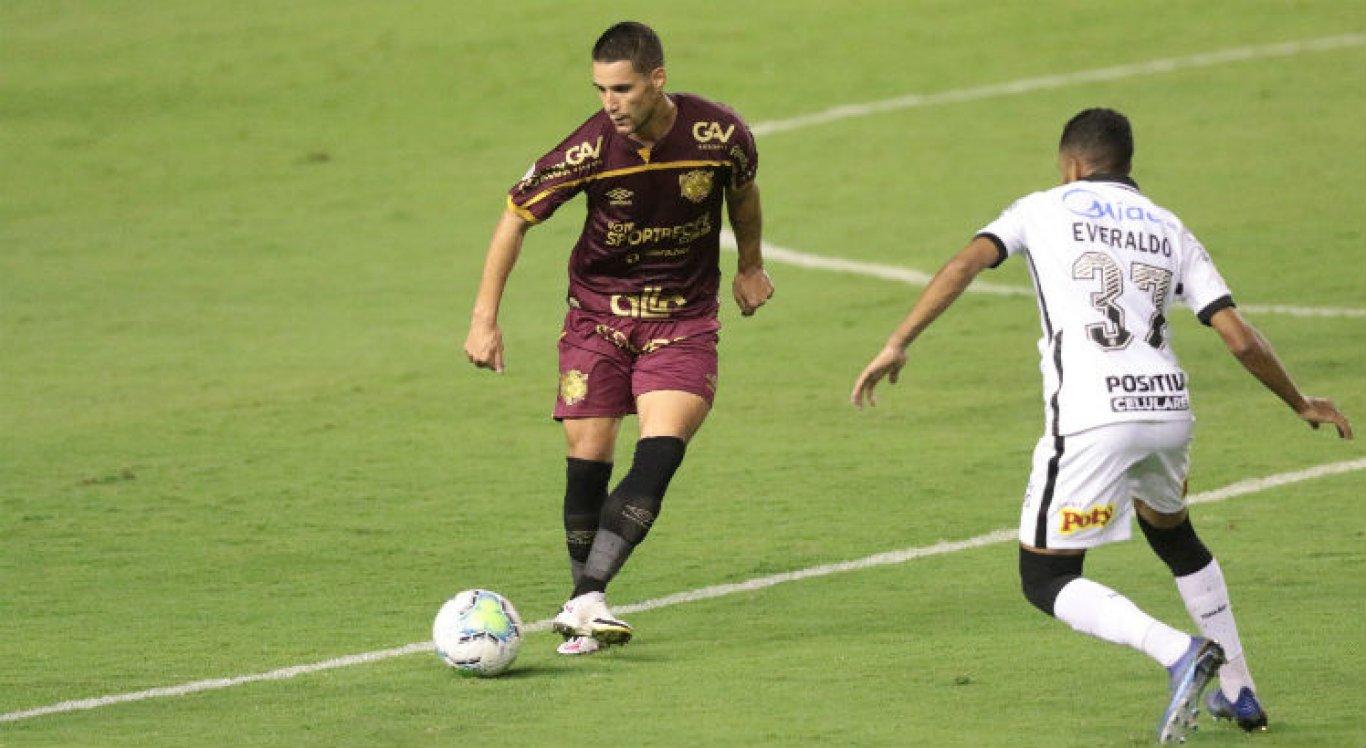 Thiago Neves foi titular na última partida do Sport.