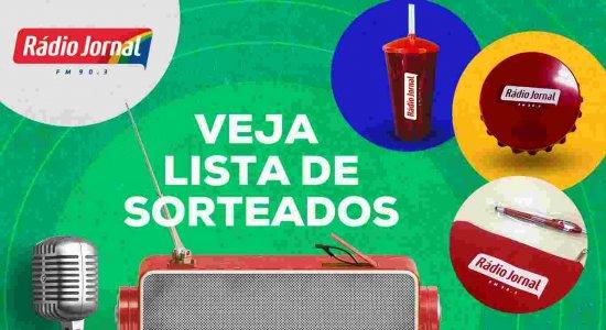 Veja ganhadores da promoção da Rádio Jornal no Dia Nacional do Rádio