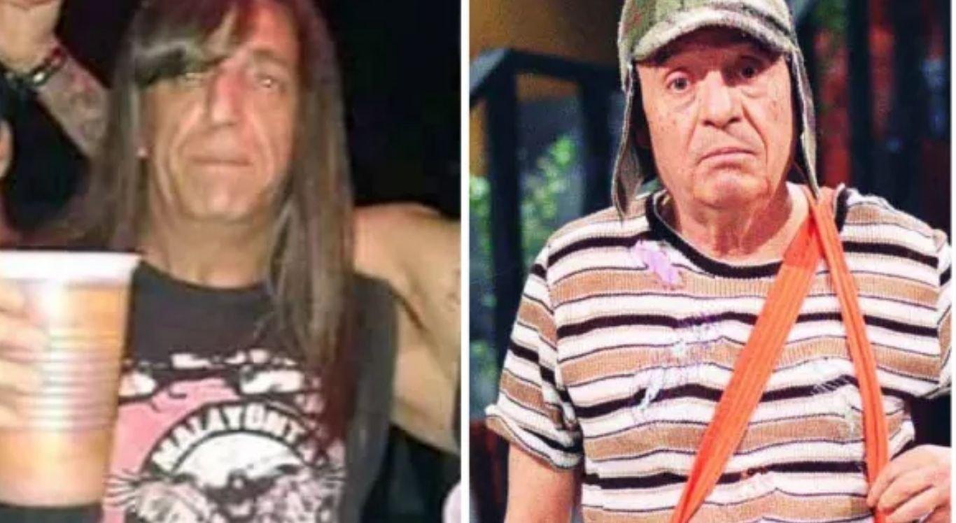Semelhança do argentino com o ator de Chaves foi bastante comentada nas redes sociais