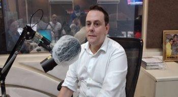 Charbel Mauron, candidato do partido Novo à Prefeitura do Recife