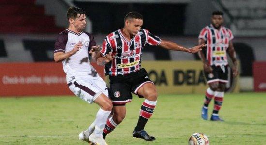 Santa Cruz e Jacuipense-BA empatam no Arruda pela Série C