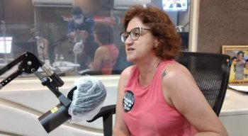 Candidata à Prefeitura do Recife Cláudia Ribeiro (PSTU)