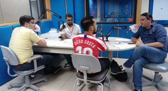 Representante da La Liga no Brasil é entrevistado pela equipe do Liga do Escrete