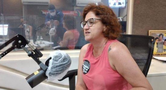 Candidata à Prefeitura do Recife e professora, Cláudia Ribeiro (PSTU) é contra volta às aulas presenciais
