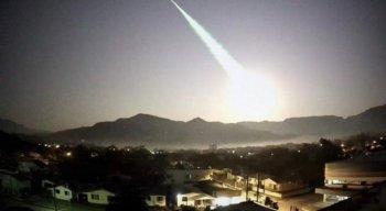 Clarão sobre o Sul do Brasil foi causado por fenômeno usual
