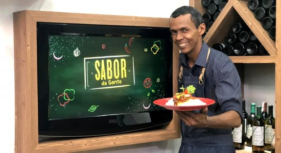 Cuscuz de Mandioca com Sardinha na Pressão: receita do Chef Rivandro França do Sabor da Gente