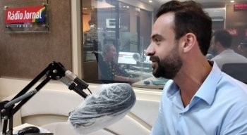 Carlos Andrade Lima é candidato do PSL à Prefeitura do Recife e participou da sabatina da Rádio Jornal
