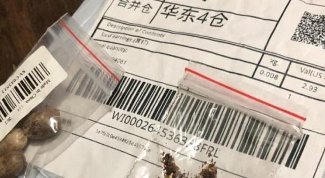O ministério está recomendando a população para não abrir encomendas recebidas pelos Correios com este tipo de produto