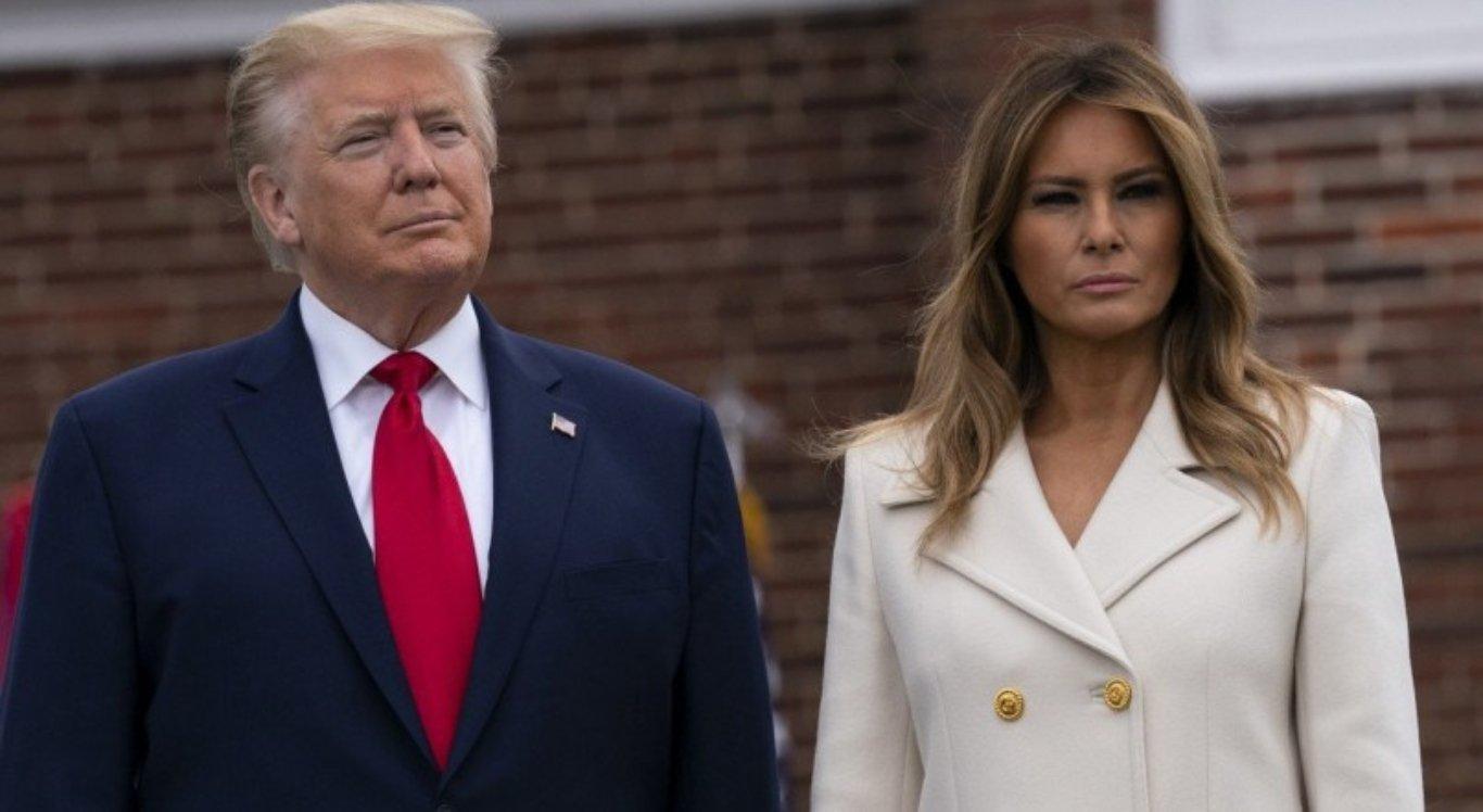 Trump e Melania têm teste positivo para covid-19