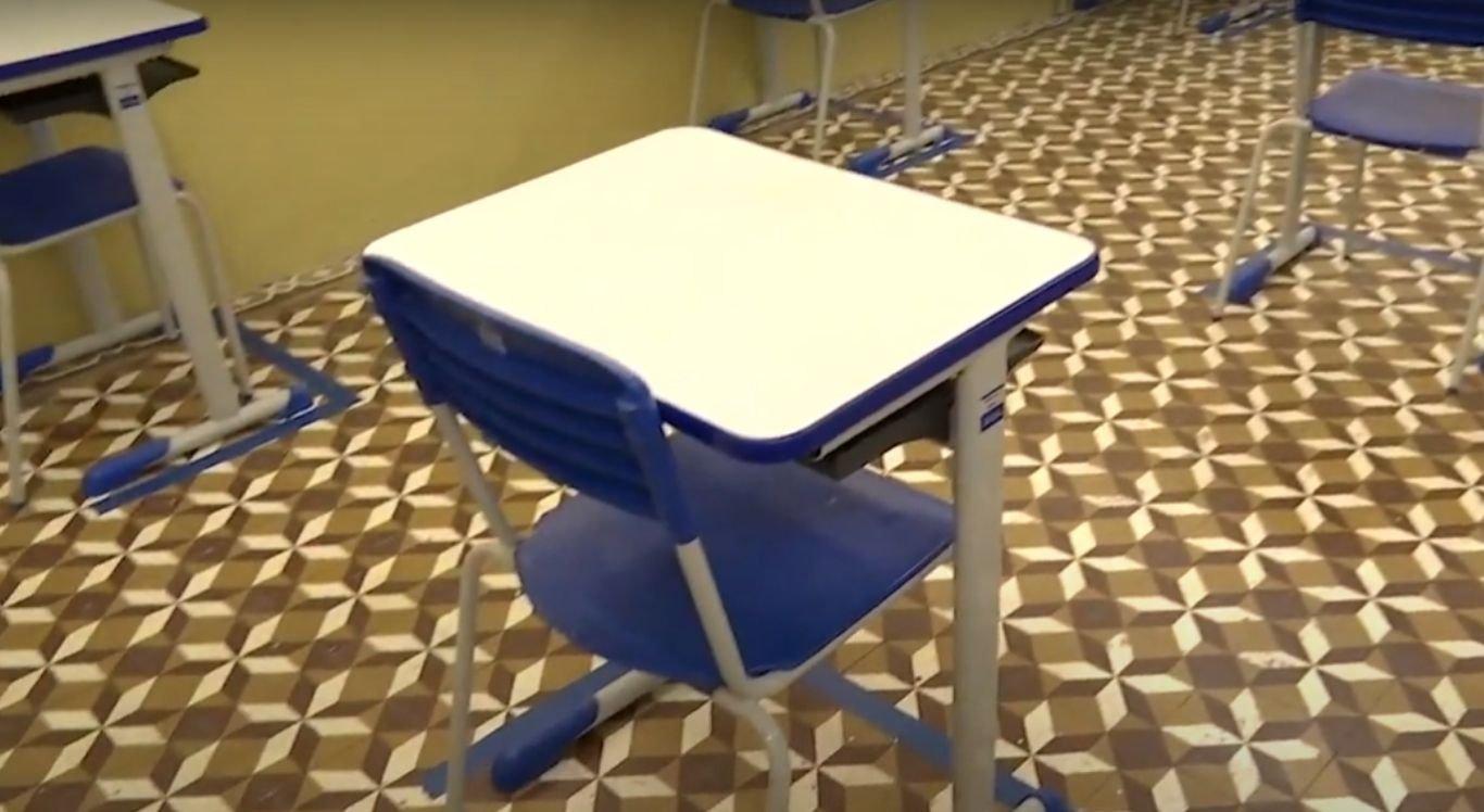 Nesta etapa inicial de retomada das aulas presenciais se encontram aptas a retornar as atividades, as turmas do 3º ano