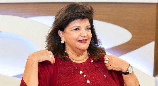 Empresária Luiza Trajano, do Magazine Luiza